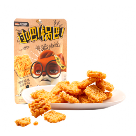 三只松鼠糯米锅巴 咸蛋黄味 108G