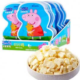 乐达小猪佩奇奶片糖 原味 32G