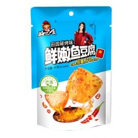 好巴食鲜嫩鱼豆腐 田园炭烤味 80G
