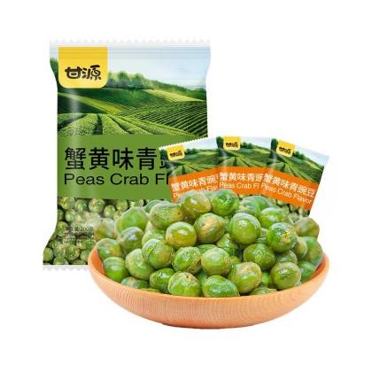 甘源蟹黄味青豌豆 75G