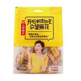 众望蜜汁蜂蜜味小麻花 家庭味 235G