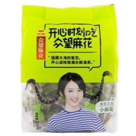 众望纯恋海苔味小麻花 家庭装 235G