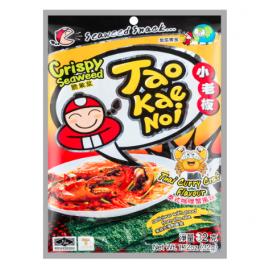 (卖光啦)泰国原产TAOKAENOI小老板 脆紫菜 泰式咖喱蟹风味 32G