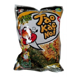 (卖光啦)泰国原产TAOKAENOI小老板 脆紫菜 涼拌酸辣剁鸡肉风味 32G