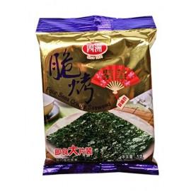 四洲脆烤紫菜 即食大片装原味 5G