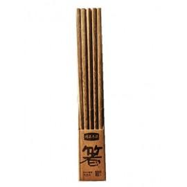 纯天然鸡翅木筷子 健康无漆无蜡环保家用红木木筷 10双装