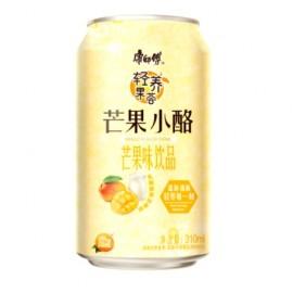 康师傅 芒果小酪 芒果味饮品 罐装310ML