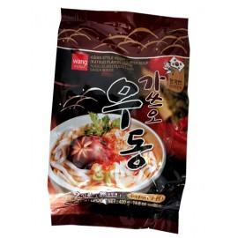 韩国热销WANG 手打乌冬面鲣鱼味 424G