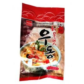 韩国热销WANG 手打乌冬面海鲜味 424G