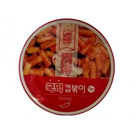 韩国原产 COOK-TOK 即食香辣炒年糕条 碗装163G