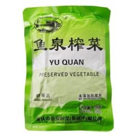 (卖光啦)鱼泉榨菜经典装 80G