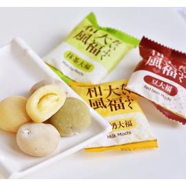 台湾热销皇族和风大福(牛奶红豆抹茶)250G
