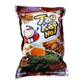 (卖光啦)泰国原产TAOKAENOI 小老板脆紫菜 鸡肉沙嗲串烧风味 32G