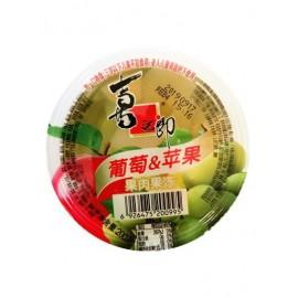 喜之郎 果肉果冻 葡萄和苹果果肉单杯装200G