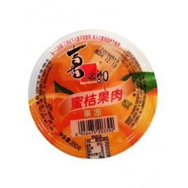 (卖光啦)喜之郎 果肉果冻 蜜桔果肉单杯装200G