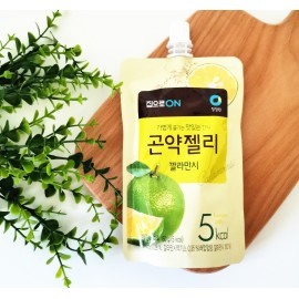 韩国热销清净园可吸魔芋果冻 酸柑味 150ML