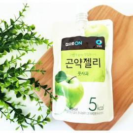 韩国热销清净园可吸低卡路魔芋果冻 苹果味 150ML