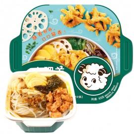 (卖光啦)小肥羊自煮小暖锅 藤椒风味小酥肉 420G