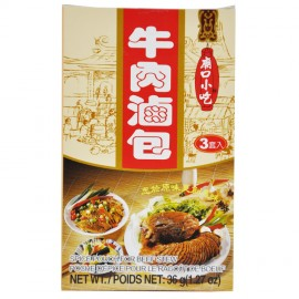 台湾原产小磨坊 牛肉卤味包 36G