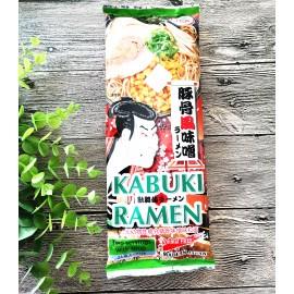 日本热销歌舞伎 豚骨风味噌拉面 2人份 190G