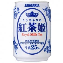 日本原产SANGARIA 红茶姬皇家奶茶 罐装 275ML