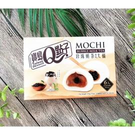 (卖光啦)台湾热销宝岛Q点子 珍珠奶茶风味大福麻糬 210G