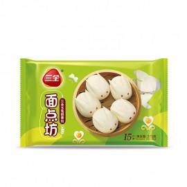 (暂停出售)三全玉兔奶黄包15只装 375G 周一至周四发货