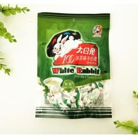 (混合买5送1→赠送原味)大白兔牛奶糖 抹茶味150G