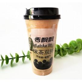 香飘飘珍珠系 抹茶双拼 珍珠果+葡萄干 奶茶85G