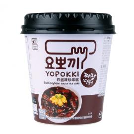 韩国热销YOPOKKI炸酱味炒年糕 3分钟微波速食杯装 140G