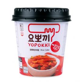 韩国原产YOPOKKI甜辣味炒年糕 3分钟微波速食杯装140G