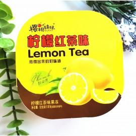 樱桃妹妹柠檬红茶味果冻 盒装 400G