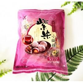 台湾热销花之恋语精致小麻糬 紫米栗子口味 超值装 300G