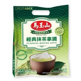 台湾热销马玉山经典抹茶拿铁 20G×16包入