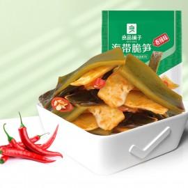 良品铺子海带脆笋 香辣味 160G