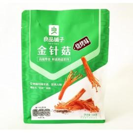 (卖光啦)良品铺子金针菇 烧烤味 188G