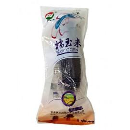 (卖光啦)绿色食品黄羊河糯玉米 紫色蓝带  ( 已熟 )220G
