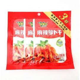 味聚特麻辣萝卜干 3连包 63G×3袋