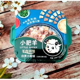 (卖光啦)小肥羊自煮小暖锅 羊肉泡馍 231G