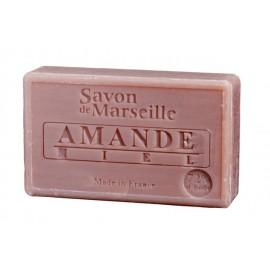 SAVON DE MARSEILLE 100G-AMANDE MIEL