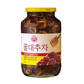 韩国原产OTTOGI 不倒翁蜂蜜红枣茶 500G
