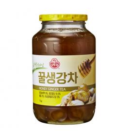 韩国原产OTTOGI  不倒翁蜂蜜姜茶 500G