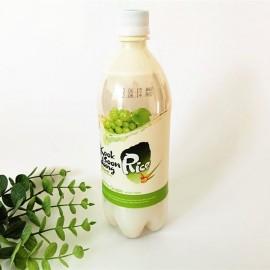 韩国热销KOOKSOONDANG 麴醇堂玛格丽米酒 青提味 ALC 3% 750ML