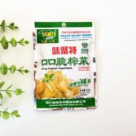 (味聚特混合买五赠一)四川味聚特 口口脆榨菜  60G