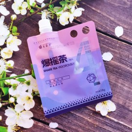(混合买5赠一→赠送口味混发)果遇茶爆摇茶系列 玫瑰红茶 18G