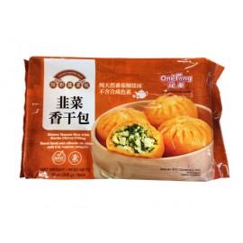 (仅限满69欧起CHRONO快递)元童炫彩蔬菜包韭菜香干包 6个装 300G 周一至周四发货