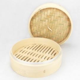 竹蒸笼+竹盖 直径16.5CM