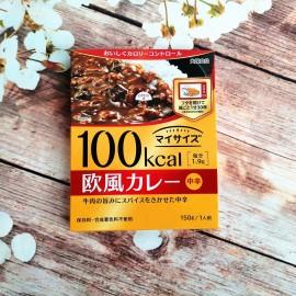 日本热销大塚100卡低热量 欧风牛肉咖喱料 150G