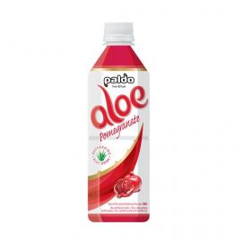 韩国原产海地村PALDO芦荟汁 红石榴口味 500ML