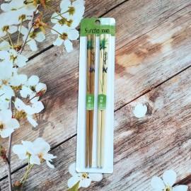 双枪竹工艺筷(比翼双飞)2双装